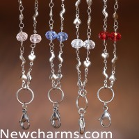 New Stainless Steel Necklaces with Stones