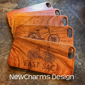 Custom Engraved Wood Phone Cases for iPhone
