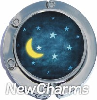 PH9049 Moon and Stars Foldable Purse Hanger