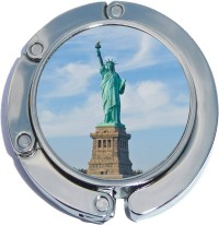 PH10531 Statue of Liberty Foldable Purse Hanger