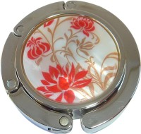 Red Flowers Purse Hanger