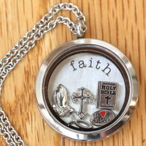 All You Need Is Faith Locket Set