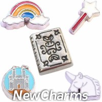 CSL123 Mythical Magic Charm Set for Floating Lockets