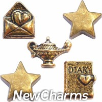 CSL148 Make a Wish Fantasy Charm Set for Floating Lockets