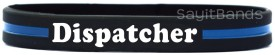 Dispatcher Thin Yellow Line Wristband
