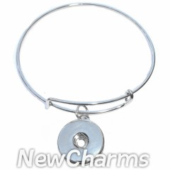 GA202 One Snap Thin Bangle Bracelet