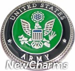 GS680 United States Army Snap Charm
