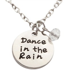 N21 Dance in the Rain Stamped Necklace