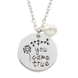 N54 You Came True Stamped Necklace