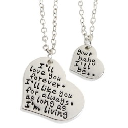 N65 Love You Forever Stamped Necklace